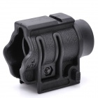 26mm QD Quick-Detach Flashlight Mount Holder for 21mm Rail - Black