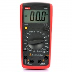 "Uni-t 2.8"" LCD Digital Capacitance Meter - Red + Grey (1 x 6F22/9V)"