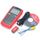 "Uni-t UT321 2.8"" LCD Digital Thermometer - Red + Grey (1 x 9F22 9V)"