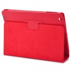 Protective PU Leather Case for Ipad 2 / New Ipad - Red