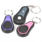 1-to-2 Key Finder Transmitter Receiver Keychains Set (Use CR2032 Battery)