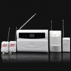2-Digit LED Wireless Home Security Alarm System Set
