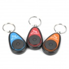 1-to-3 Remote Control Key Finder Keychains Set (1 x 27A / 1 x CR2032 Battery)