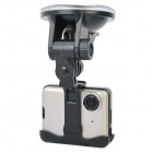 720P Car DVR Video Road Safety Guard Camera w/ AV-Out / USB 2.0 - Grey (2.0