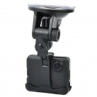720P Car DVR Video Road Safety Guard Camera w/ AV-Out / USB 2.0 - Black (2.0&quot; TFT)