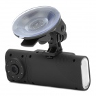 "Double-lens 12MP CMOS Wide Angle Car DVR Camcorder w/ TF / HDMI / Night Vision / G-Sensor / 2.0"" LCD"