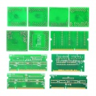 Laptop Resistance Signal Card CPU Dummy Load Debug Kit (12-Piece)