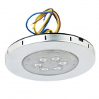 Ultra-Thin 8W 6200K 420-Lumen 6-LED White Light Ceiling Lamp (AC 85~265V)