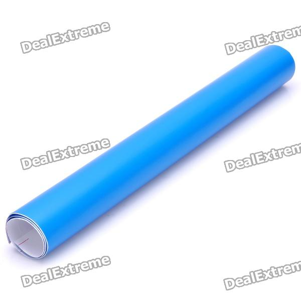 Protective Decoration Car Light Membrane /Lamp Sticker - Matte Blue 3d carbon fiber paper decoration sheet car sticker blue 200 x 30cm