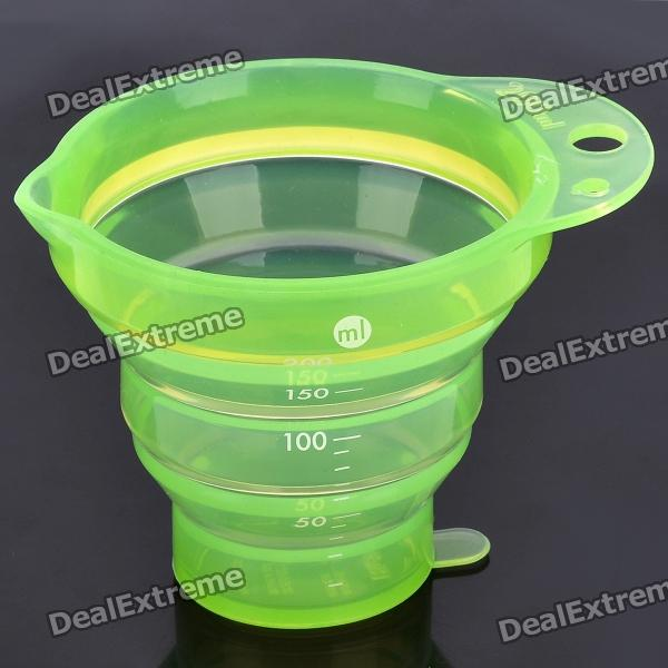 Portable Folding PU Cup - Green (200ml)