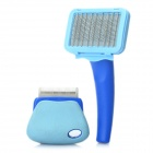 Pet Fur Hair Grooming Shedding Brush Set (Small Size)