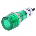 XD10-1 10mm Signal Light Lamp - Green (DC 24V / 10-Piece Pack)