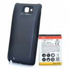3.7V 5200mAh Extended Battery w / Back Cover para Samsung Galaxy Note / i9220 / GT-N7000 - Negro
