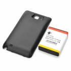 3.7V 5200mAh Extended Battery w/ Back Cover for Samsung Galaxy Note / i9220 / GT-N7000 - Black