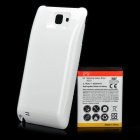 3.7V 5200mAh Extended Battery w/ Back Cover for Samsung Galaxy Note / i9220 / GT-N7000 - White