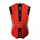 Genuine Sunsonny USB Wired Optical Gaming Mouse - Red