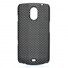 Stylish Mesh Design Protective Case for Samsung Galaxy Nexus i9250 - Black