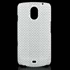 Stylish Mesh Design Protective Case for Samsung Galaxy Nexus i9250 - White