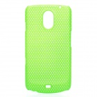 Stylish Mesh Design Protective Case for Samsung Galaxy Nexus i9250 - Green