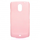 Stylish Mesh Design Protective Case for Samsung Galaxy Nexus i9250 - Pink