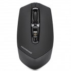 Genuine Newmen 1000/1500/3000CPI 2.4GHz Wireless USB Optical Mouse - Black (2 x AA)