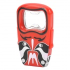 Cool Beijing Opera Facial Masks Style Opener Gas Lighter - Random Color