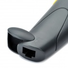Handheld USB Visible Laser Barcode Scanner - Black