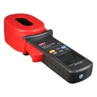 "UNI-T UT273 2.2"" LCD Clamp Style Grounding Resistance Measurement Tester - Red + Gray (4 x AA)"