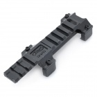Steel 20mm Rail Low-Profile Scope Mount - Black