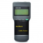 "SC8108 2.6"" LCD Network Cable Tester (4 x AA)"