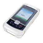 Silicon Protective Case for Nokia N81 (Clear White)