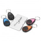 Sound Activated 433.92MHz 1-to-4 Wireless Key Finder - Silver + Black (1 x CR2032)
