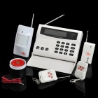 "3.3"" LCD Home Security Wireless GSM Dual-Band Alarm System Set"
