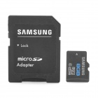 Подлинный Samsung Класс 6 Micro SD / TF карт с SD Card Adapter - черный (8 Гб)