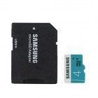 Genuine Samsung CLASS 4 Micro SD/TF Card with SD Card Adapter - Black (4GB)