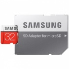 Samsung CLASS 10 Micro SDHC Card with SD Card Adapter - Black (32GB)