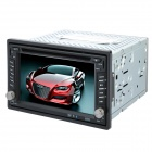 "6.2"" Touch Screen Car DVD Player w/ Bluetooth / FM / AM / Analog TV / Remote Control - Black"