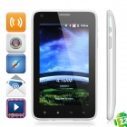"J8000 Android 2.3 WCDMA Smartphone w/ 5.0"" Capacitive, 8.0Mega Camera, GPS, TV and Wi-Fi - White"