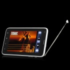 "J8000 Android 2.3 WCDMA Smartphone w / 5.0 ""Capacitieve, 8.0Mega Camera, GPS, TV en Wi-Fi-Wit"