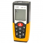 "LDM-100 1.6"" LCD Laser Distance Meter - Black + Yellow (2 x AAA)"