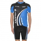 2012 GIANT Team Short Sleeves Bicycle Cycling Riding Suit Jersey + Shorts Set (Size-XXL)