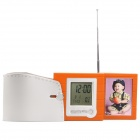 2.4&quot; LCD Rolling Pen Holder w/ Alarm Clock + Calendar + Thermometer + Radio + Photo frame