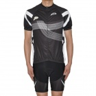 2012 SHIMANO XTR Team Short Sleeves Bicycle Cycling Riding Suit Jersey + Shorts Set (Size-L)