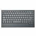 Bluetooth V2.0 Class 2 Ultra-Thin 88-Key Keyboard for iPad / iPhone + More - Black