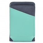 ROCK Dynamic Protective Leather Slide-in Case for Cellphone - Green + Grey (Size S)