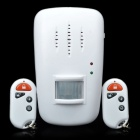 Wireless Digital Intelligent Induction Burglar Alarm - White