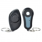Sound & LED Flashing Activated 1-to-1 Wireless Key Finder - Black (1 x CR1632/2 x CR2032)