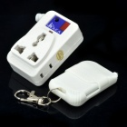 RF Wireless Remote Control AC Power Socket - Branco (AC 220V/500W)