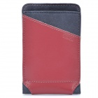 ROCK Dynamic Protective Leather Slide-in Case for Cellphone - Red + Grey (Size S)