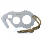 Taktische Outdoor-Camping-Rope Cutter Tool - Silber